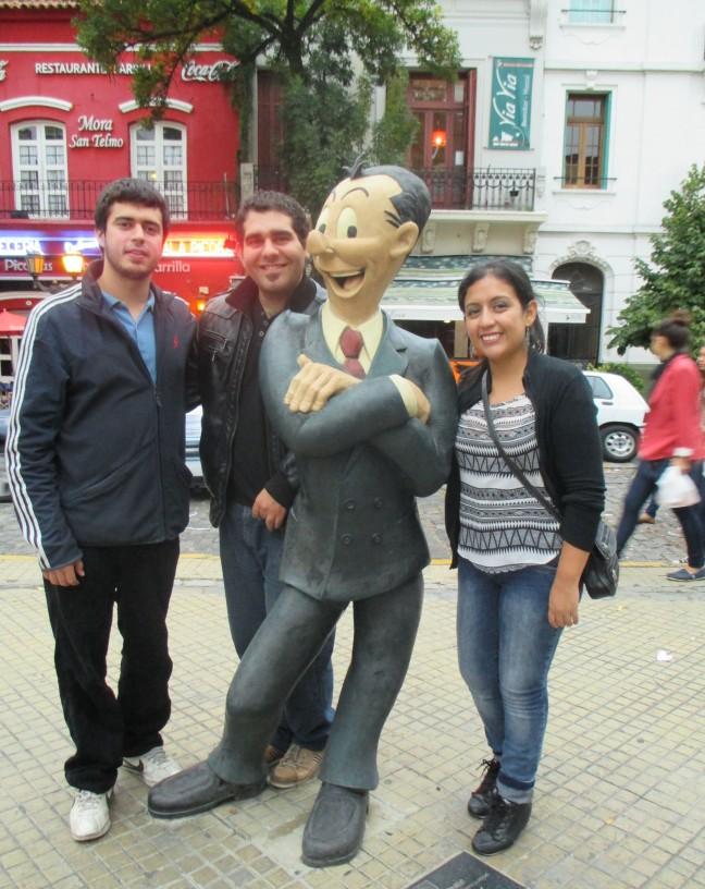 Con Isidoro.