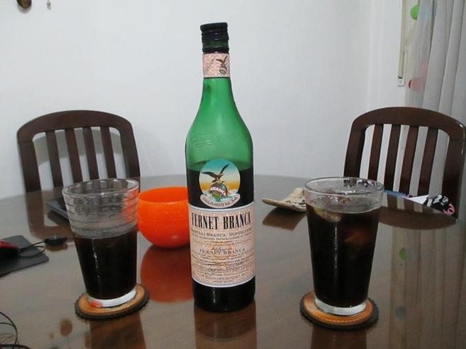 Fernet con coca.