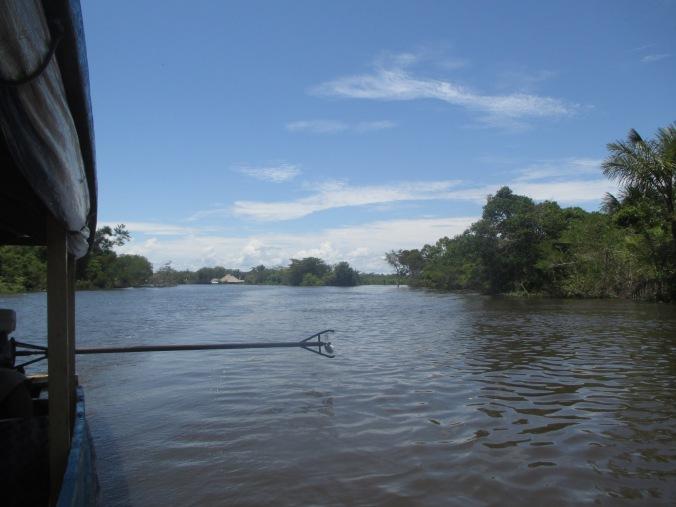 Camino a la Isla de los Boras, río Momón